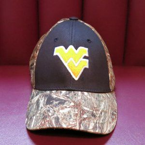 Black/Camo West Virginia Mountaineers WVU Hat